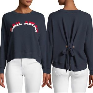 Joie Lenexa Sail Away Tie-Back Pullover NWOT XS